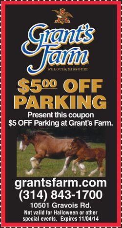 Grant's farm st louis coupons