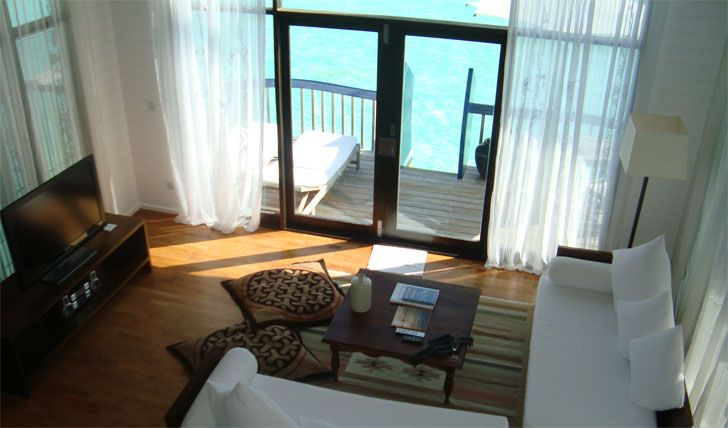 Tranquil turquoise waters from your room