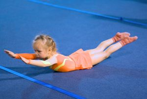 Strength and conditioning with gymnastics excercises
