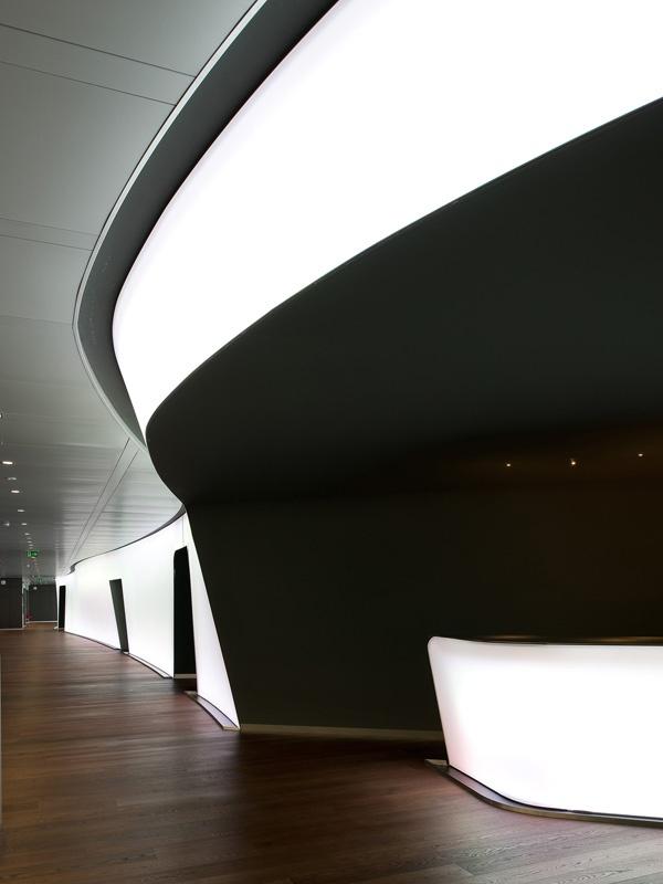 Nestlé Business Center, Switzerland :: Brönnimann & Gottreux Architectes