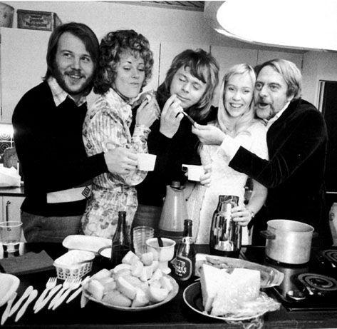 WATERLOO 1974: 1974abbacelebrating9febr