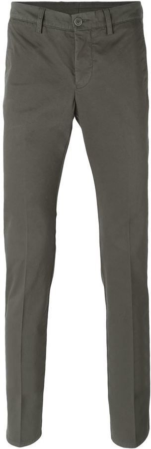 $149, Aspesi Slim Chino Trousers. Sold by farfetch.com. Click for more info: https://lookastic.com/men/shop_items/345602/redirect