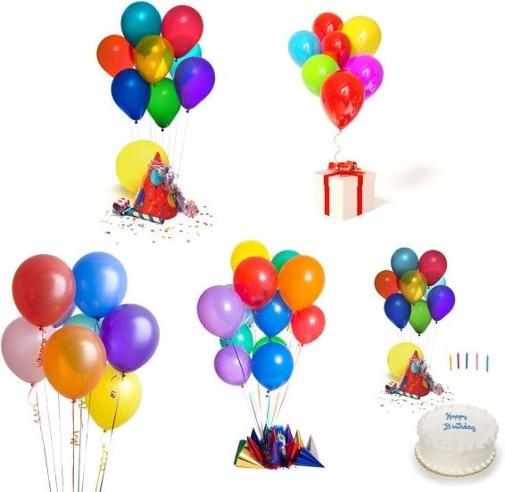 celebrate birthday balloons highdefinition