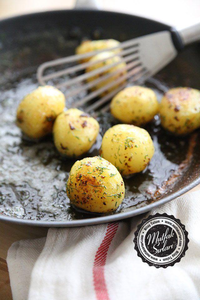 Fondan Patates (Tavada Tereyağlı Patates) Tarifi | Mutfak Sırları
