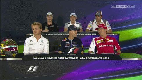 "Kimi Raikkonen Sebastian Vettel ""Simi"""