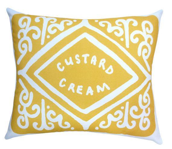 Supersize Custard Cream Printed Cushion