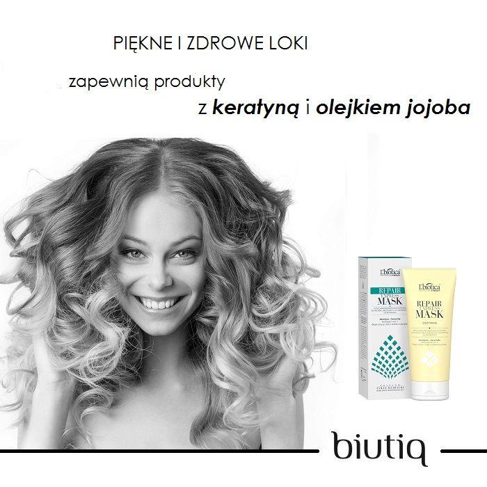 Kręcone włosy wymagają odpowiedniego nawilżenia i pielęgnacji - L'biotica Professional Therapy Repair