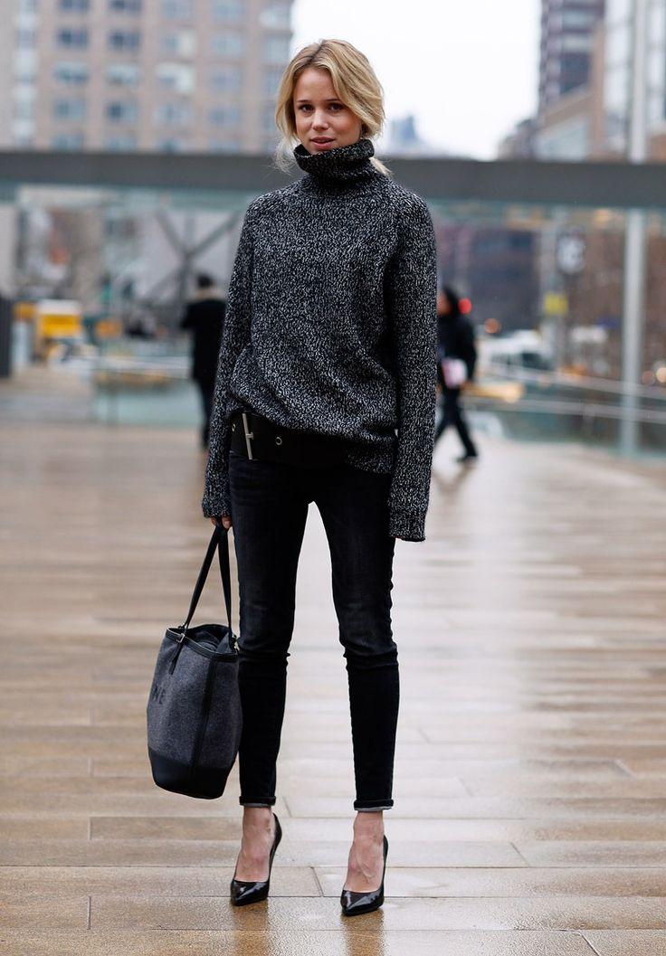 elin: Sweater, Fashion, Turtleneck, Street Style, Outfit, Styles, Fall Winter, Elin Kling