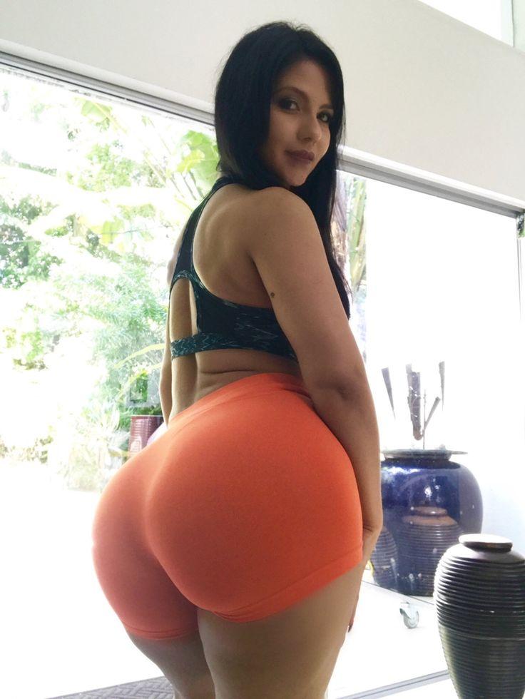 Thick curvy latina booty shorts pity
