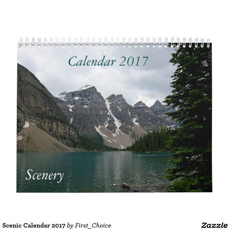 Scenic Calendar 2017