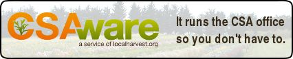"""Local Harvest /CSA - Fantastic website connecting local farmers with community members.  Save $$$ on locally grown and organic fruits & veggies by purchasing """"shares"""" of a farms yearly crop!"""