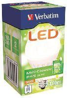 VERBATIM 64203V LED GLOBE MINI-CLASSIC P45 E14 4W 210ML 3000K WW
