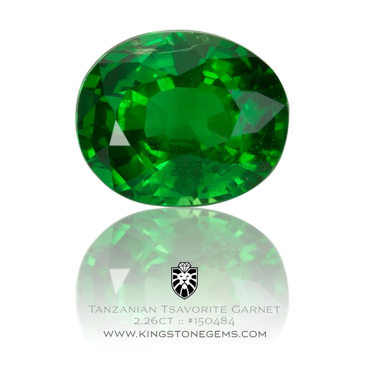 Tsavorite Garnet Oval - 2.26ct - 8.6X7.1X4.8mm - SKU# 150484 - We have many incredible tsavorites in our collection of precious natural gemstones.