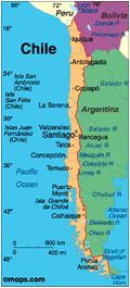 Geography= Chile has the lt rainfall percentage. In chile there are alot of mountain areas with some islands. It is also the mt southernmost country in the world. Has year round mild to warm weather. Average 54 degrees in january