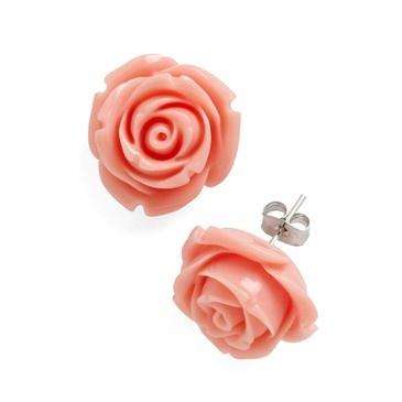 so cute: Rosie Earrings, Rose Earrings, Bridesmaid, Vintage Earrings, Pink Rose, Retro Rosie, Dusty Rose, Retro Vintage, Modcloth Com