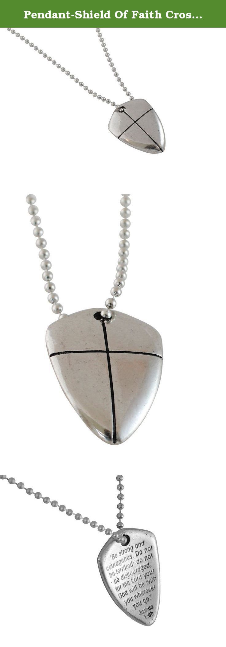 Pendant shield of faith cross 24 chain necklace pendant shield pendant shield of faith cross 24 chain necklace pendant shield of faith cross 24 chain necklace pinterest religious jewelry aloadofball Choice Image
