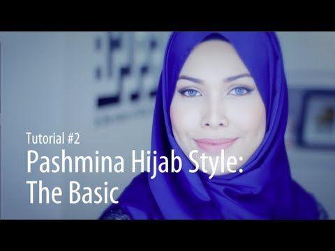 [Adlina Anis] Hijab Tutorial 2 | The Basic Pashmina - YouTube