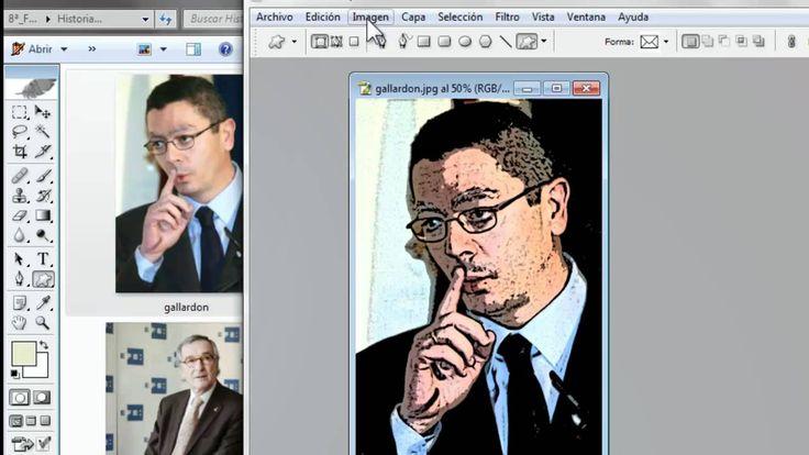 Como convertir fotos a caricaturas