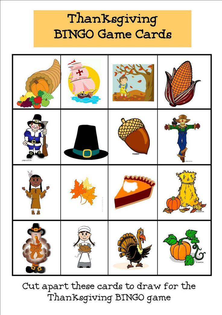 fleur de Lemoine: Thanksgiving Bingo
