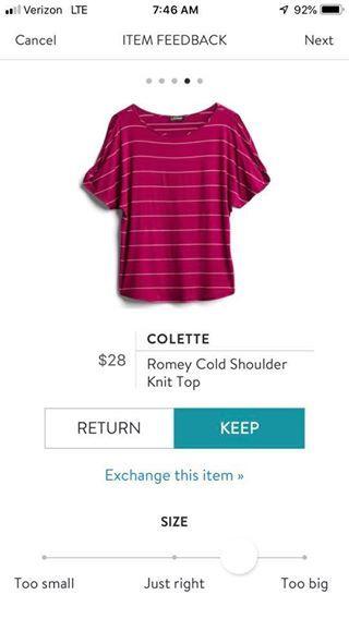 959c2027d4ef36 Colette Romey Cold Shoulder Knit Top Cold Shoulder