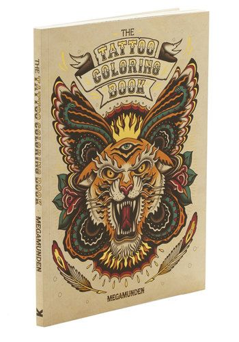 The Tattoo Coloring Book by Chronicle Books - Rockabilly, Good, Novelty Print
