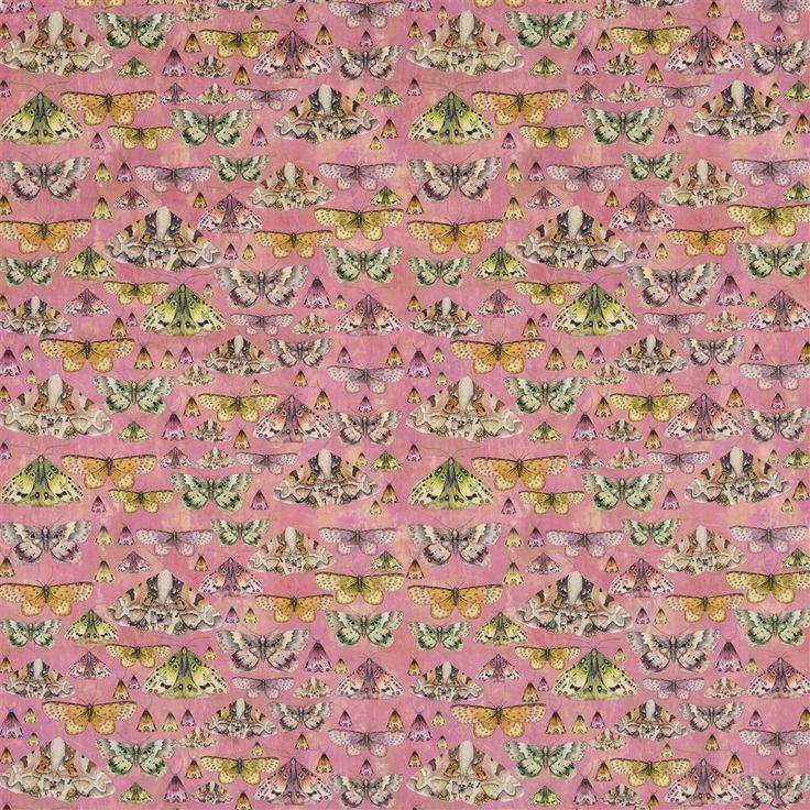 Issoria Rose Fabric | Designers Guild