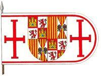 Bandera de Castilla y Aragón. Campaña de Orán (1509)
