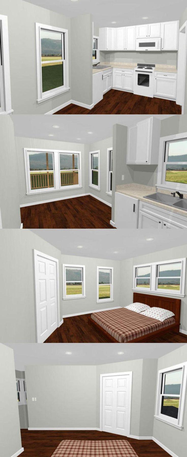 16x16 House 1Bedroom 1.5Bath 478 sq ft PDF