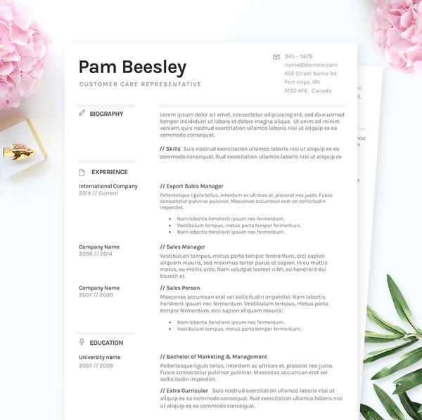 NEW! Make sure your resume finally gets the attention it deserves with this complete package – includes a simple resume sample, minimal cover letter example and a references template. It's easy to customize your layout – fonts, layout, and colour can be changed to suit your personal preference. If you have basic Microsoft Word experience, you'll be able to download and edit your new resume within minutes on either your PC or Mac. Say goodbye to out-dated, black-and-white resume templ...