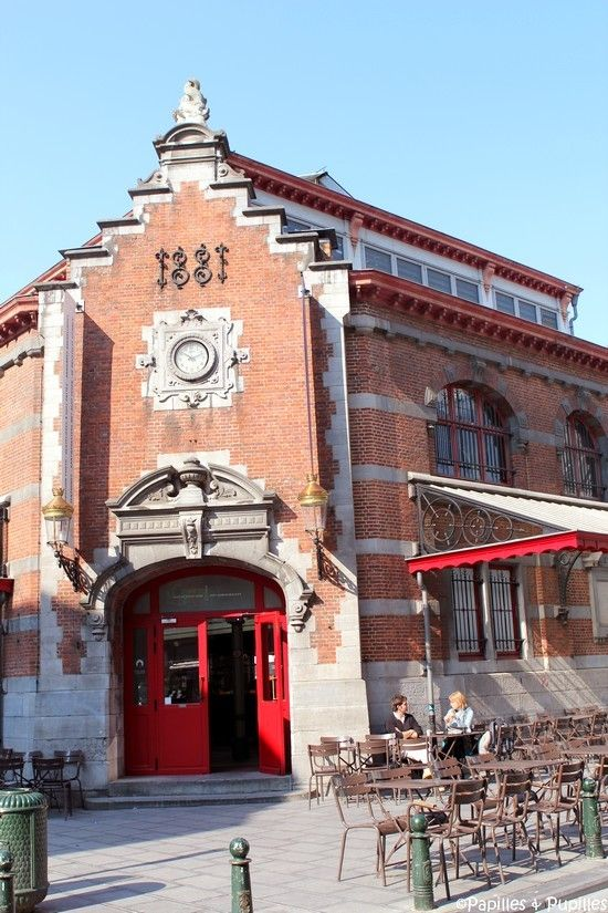 Saint-Géry covered market, now Regional Heritage Exhibition Centre #Brussels #heritage #market #covered