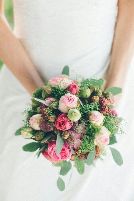 Biedermaier Brautstrauß