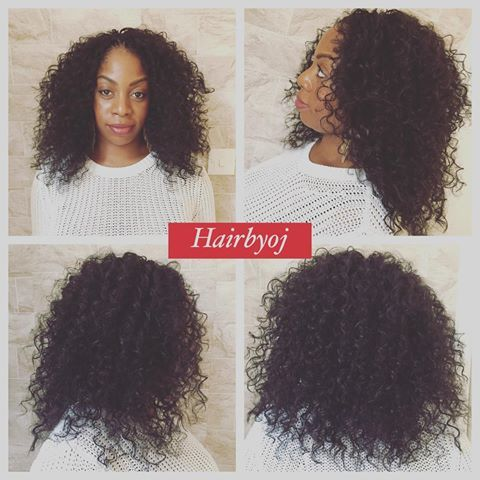 Shoulder length curly crochet braids - no parting  #hair #natural #naturalhair #twa #transitioning #crochet #crochetbraids #ukcrochetbraids #crochetbraidsuk #braidsuk #braidslondon #crochetbraidslondon #protectivestyles #protectivestyling #protectivestyle #blownouthair #bighair #longhair #curlyhair #curls #curlygirl #curl #hairdresser #london #hairstylist #vixencrochetbraids #hairbyoj hairbyoj.com