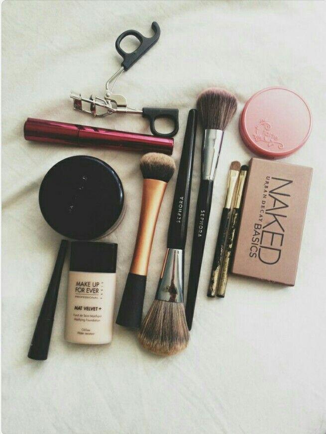 Essentials ❤ @makeupforever @naked #makeup