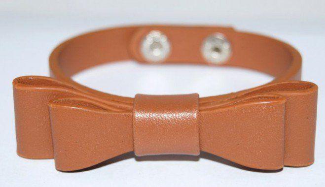 Bracelet-noeud-cuir-camel