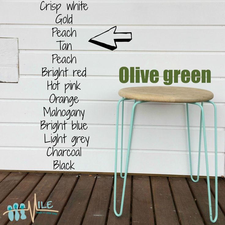 Olive green goes with...