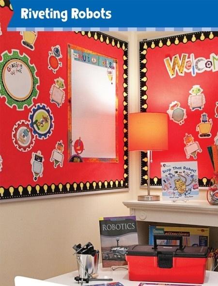 Robot Classroom Decor : Best robot theme classroom images on pinterest