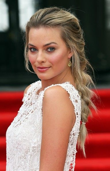 Margot Robbie - known mainly from her role in 'Wolf of wall street' but I think she looks much nicer in 'About time'.