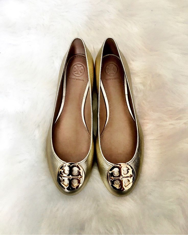 Gold tory burch flats | Nordstrom sale