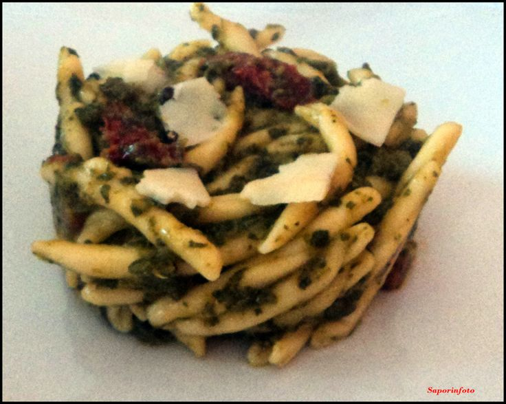 SaporInfoto: Strozzapreti Mazzareddri e Pecorino