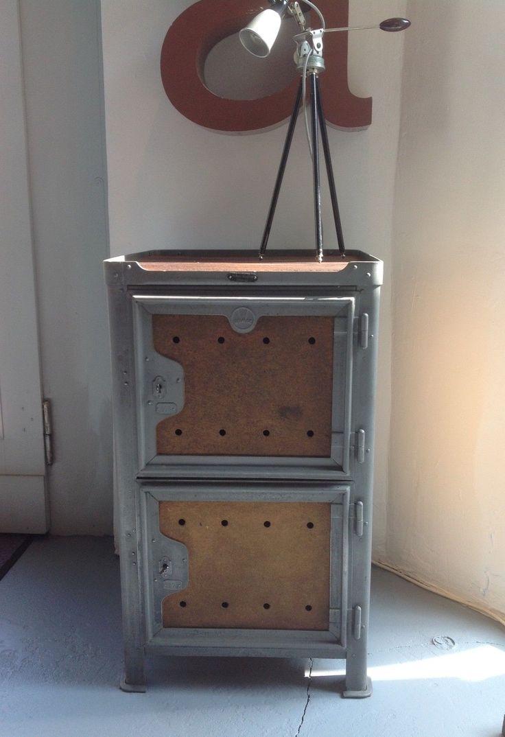 Industriedesign Loft ROWAC Werkzeugschrank Werkstatt metall Stahl | eBay