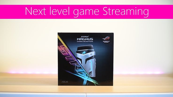 ASUS ROG Strix Magnus Gaming Microphone Unboxing and overview. Best gami...