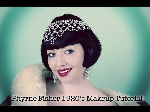A simple, easy to achieve 1920's day time look inspired by Essie Davis and the Miss Fisher's Mysteries T.V series. (ABC T.V Australia)  Base...