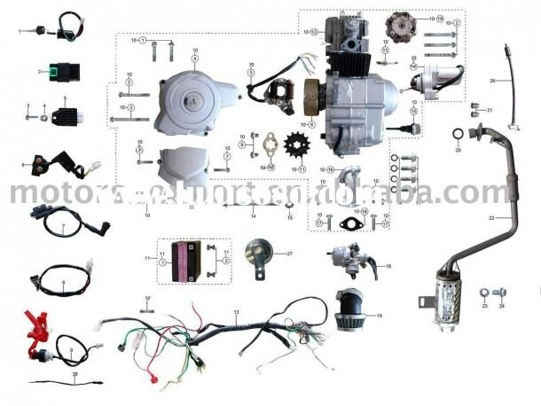 Chinese Atv Wiring Diagram 110cc