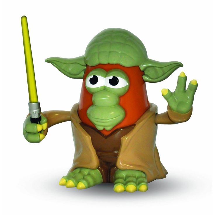*Includes 1x Yoda Potato Head *Officially licensed *Plastic construction *Perfect size for play or display *Brand new in window box packaging