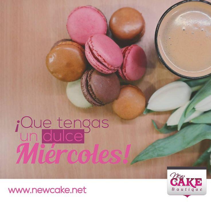 ¡Que tengas un #dulce #Miércoles!  www.newcake.net  #newcakeboutique #weddingcake #cakeart #marcoantoniolopez #cursoscakes #fashioncake