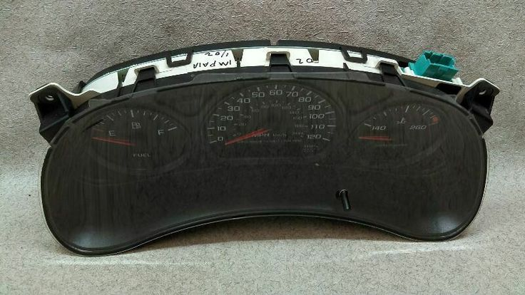 Speedometer Cluster US Excluding Police Package Fits 0005