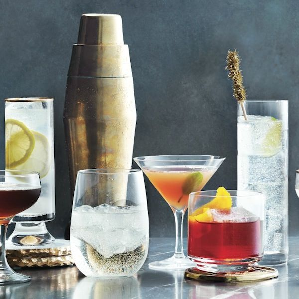 With a well-stocked holiday liquor cabinet, you can easily mix up a variety of classic drinks. Get this Campari and soda recipe and more at Chatelaine.com