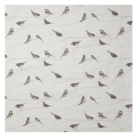 Buy Louise Body Garden Birds Furnishing Fabric Online at johnlewis.com