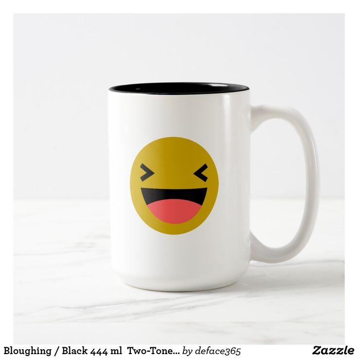 Bloughing / Black 444 ml  Two-Tone Mug