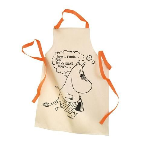 Moominmamma cotton apron for adults by Petit Jour
